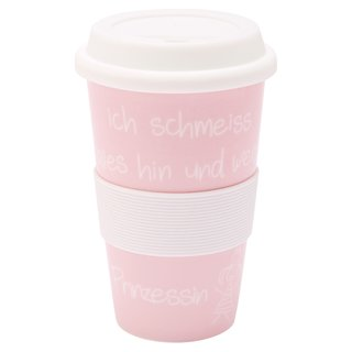 Coffee to go Becher Ich schmeiss alles hin...